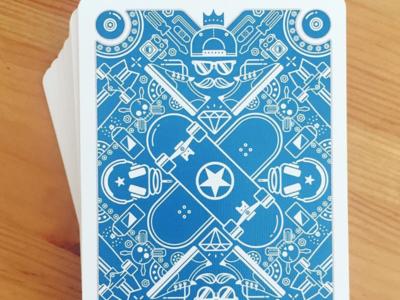 Skateboard Playing Cards