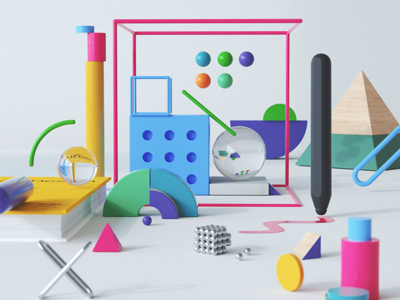 Cisco Spark / Collaboration Platform design collaboration cisco digitalart inspiration abstract art octanerender c4d 3d