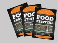 Food Flyer template design