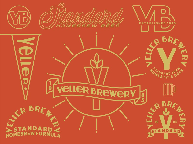 Yeller Brewery Design pack