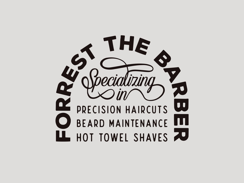 Forrest the Barber Lockup