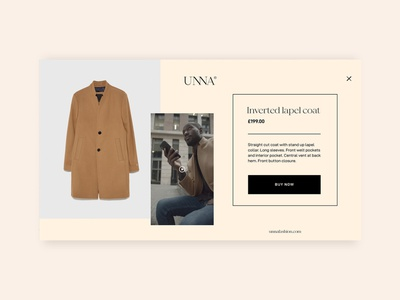 Shoppable Video Concept Design concept designs cart clothes clothing fashion illustrator adobe illustrator shop interaction design interactive video buy ux uiux ui wirewax overlay shoppable ecommerce retail