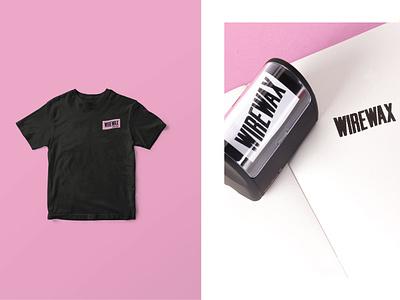 WIREWAX Merchandise Mockups branding brand stamp tshirt merch design merchandise merch