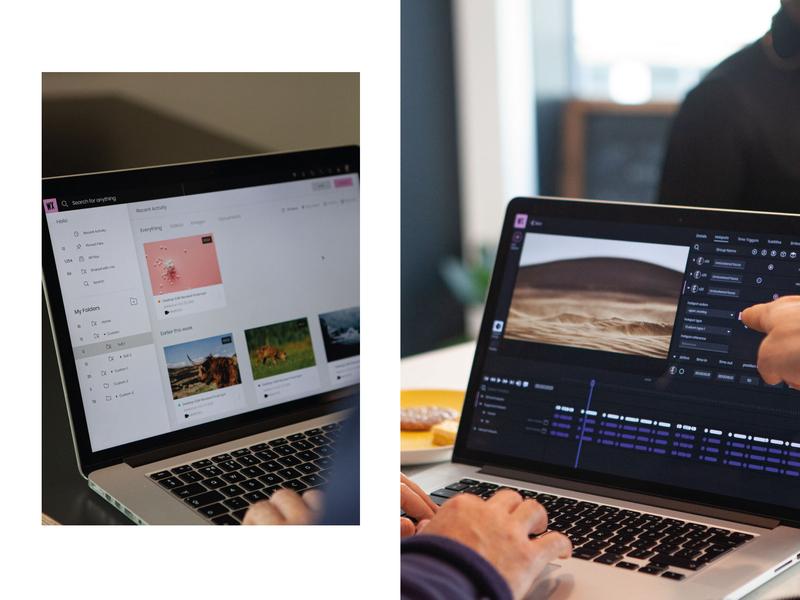 WIREWAX Rebrand Studio Update branding interactive studio dam ui ux design saas design studio interactive video wirewax