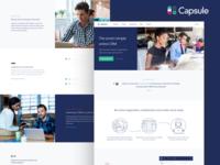 Capsule Homepage