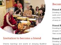 Donations brochure