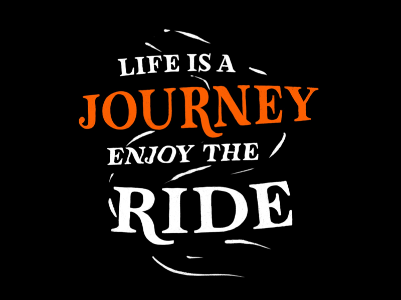 Life Is A Journey by Mantas Tamošaitis on Dribbble