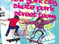 Skate Team vector art
