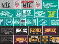 college sports graphic design vector art