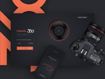 Capsule 360 Web Page