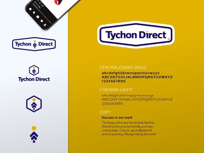 Tychon Direct - Type/Mark vector united states typography type system mockup minimal logo illustration flat e-commerce creative direction designer creative branding identity branding design brand identity identity brand
