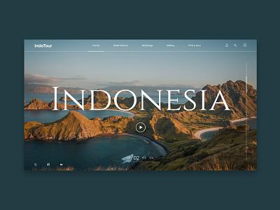 Indonesia travel website indonesia travel tours design ux website design web website web design uiillustration uiinspirations ui  ux uiux uidesign ui design uiinspiration ui