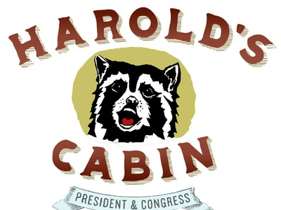 Harolds Cabin Lock Up Just Raccoon Web
