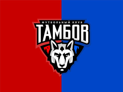 Tambov sports animal wolf sport soccer sale russia beast mascot logotype identity forest football esport club logo branding