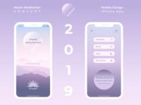 Moon Meditation App