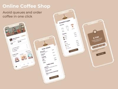 Order coffee online