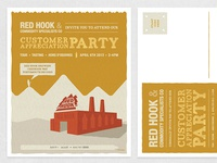 Red Hook Party Invite