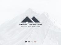Modest Mountain Logo
