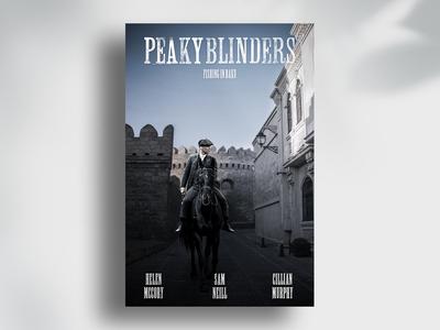 """""""Peaky Blinders"""" poster """"Fishing in Baku"""""""