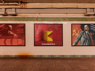 BELLACHAI | Soviet style brand & poster design