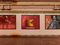 BELLACHAI   Soviet style brand & poster design
