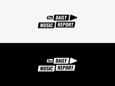The Daily Music Repot Logo play button newsfeed music