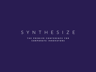Brightidea Synthesize Wordmark and Tagline