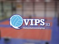 Volleyball logo concept