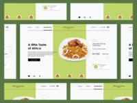African Cuisine new design