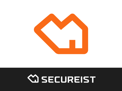 Heart + House Logo Exploration for Security Company watch barrier open secure safe guard protect startup simple clean door house heart love warmth branding brand identity logo mark symbol icon