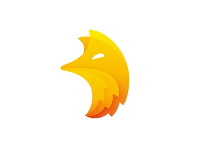 Flame Fox Logo Design (Unused) foxy fire flame mascot character branding brand identity for sale unused buy wildlife wild fast animal 2d 3d gradient sunset icon symbol mark logo