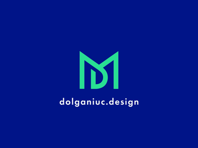 Intro MD Animation for Youtube Channel gif animated loop play media video graphic design path content social media website personal brand lettermark monogram type typography text custom branding brand identity logo mark symbol icon