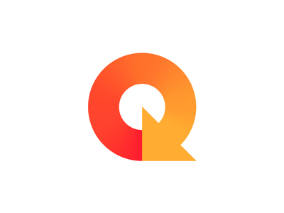 Letter Q + Refresh + Replay (Unused for Sale) previous back round rounded renew restart arrow path loading loader lettermark type typography text custom for sale unused buy branding brand identity logo mark symbol icon