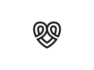 Maitre D'ate Logo Exploration #2 for sale dating logo dating inifinte symbol infinte logo heart icon heart symbol heart logo love symbol love logo