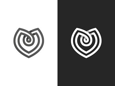 Maitre D'ate Logo Exploration #4 (M + <3) for sale letter m dating logo dating inifinte symbol infinte logo heart icon heart symbol heart logo love symbol love logo