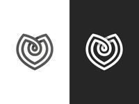 Maitre D'ate Logo Exploration #4 (M + <3)