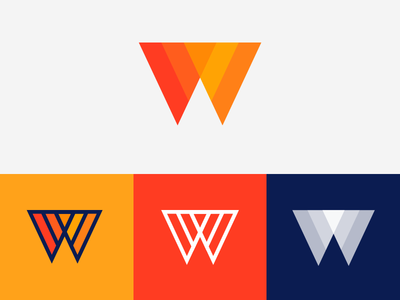Wic — Mark Ddesign (Option 2) for sale text logo type logo modern logo platform online learning w logo letter w symbol w mark w