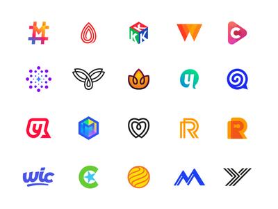 Logo Collection 2017 — 2018 logos, mark, design