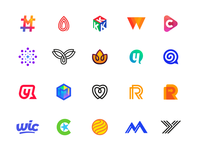 Logo Collection 2017 — 2018 logos, mark, design