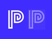 Letter P Exploration — Concept 06