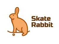 Skate Rabbit Logo Design