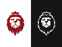 Lion Rock Logo Template