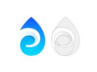 E + Drop Logo Concept