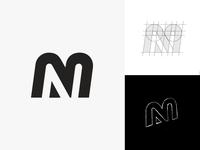 MN Monogram Design