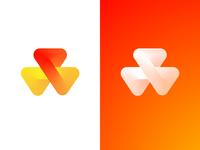 Triangle Loop Logo Design