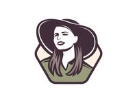 Overseas AG Girl — Logo Design