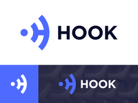 Hook Logo Design for Social Wi-fi Platfrom (Unused)
