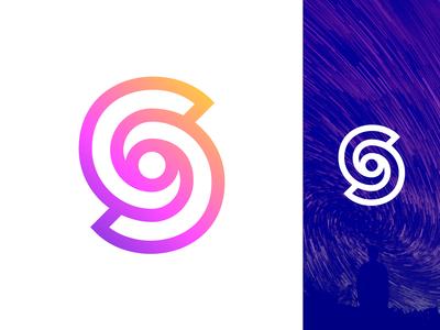 S For Swirl Logo Design Exploration