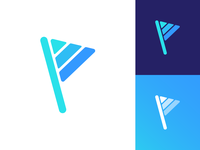 Personal Training Platform Logo Exploration Option 4