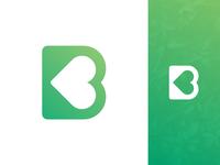 B Heart Logo Exploration